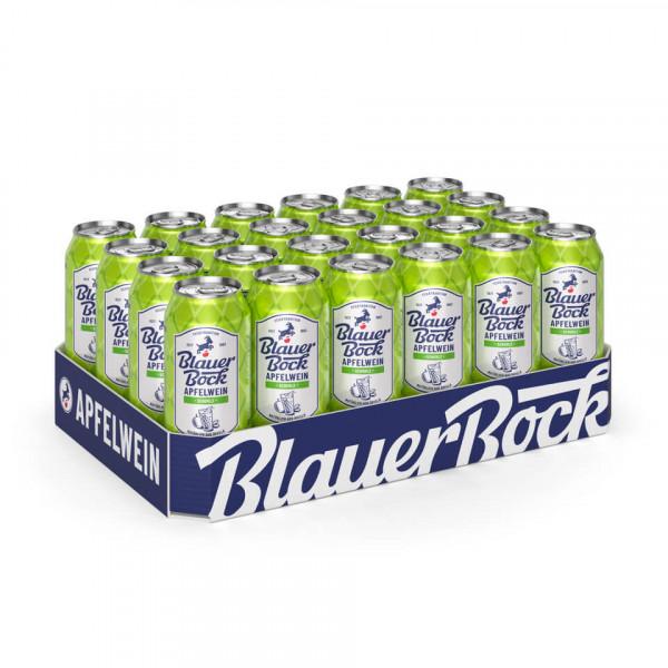 Blauer Bock Apfelwein - Schorle - 24x 0,5 l EINWEG-Dose