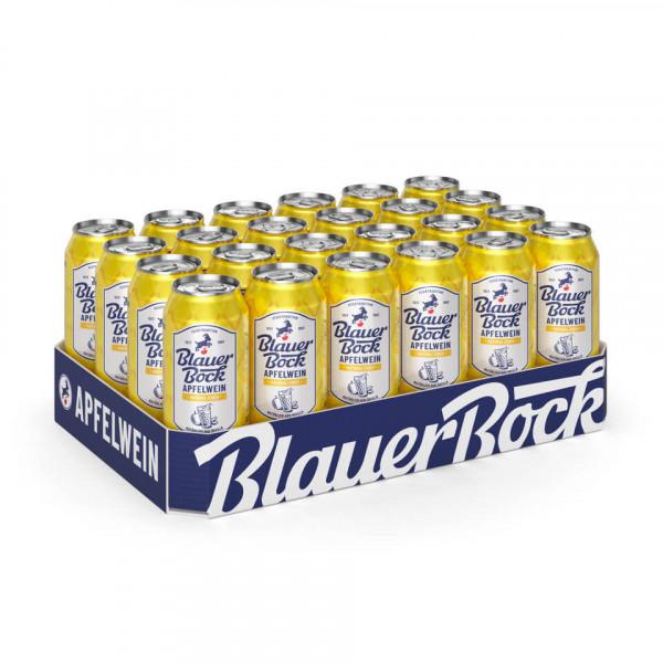 Blauer Bock Apfelwein - Natural Cider - 24x 0,5 l EINWEG-Dose
