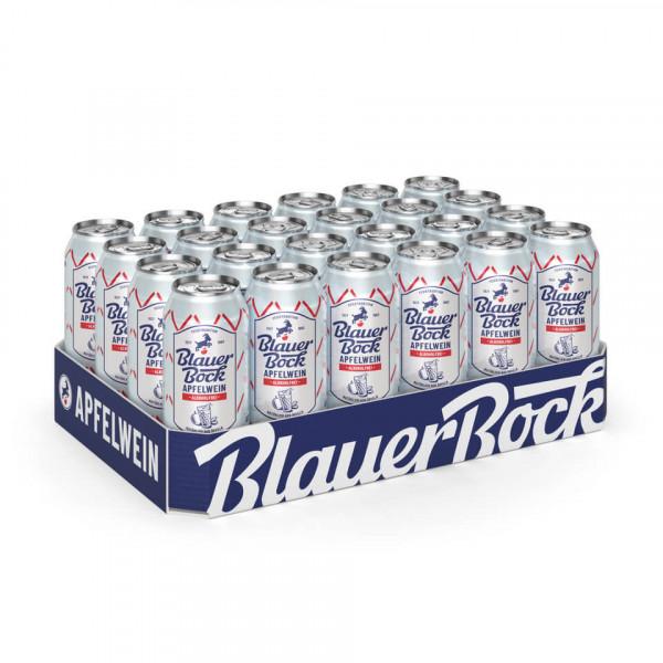 Blauer Bock Apfelwein - alkoholfrei - 24x 0,5 l EINWEG-Dose